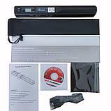 Портативний ручний сканер iScan S001 LCD 900dpi Black, фото 10