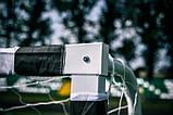 Футбольні ворота RomiSport 300x200x90 см + сітка Польща, фото 3