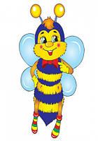 """Детские развивающие карточки. Счёт """"Пчелки и цветочки"""" 13106072 на укр. языке"""