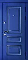 Дверь входная ART Юлия Дуб синий/дуб белый