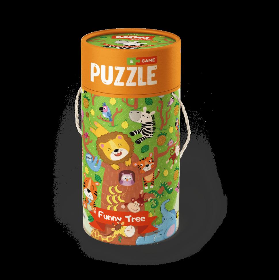 """Пазл и игра Mon Puzzle """"Волшебное дерево"""" 200115"""