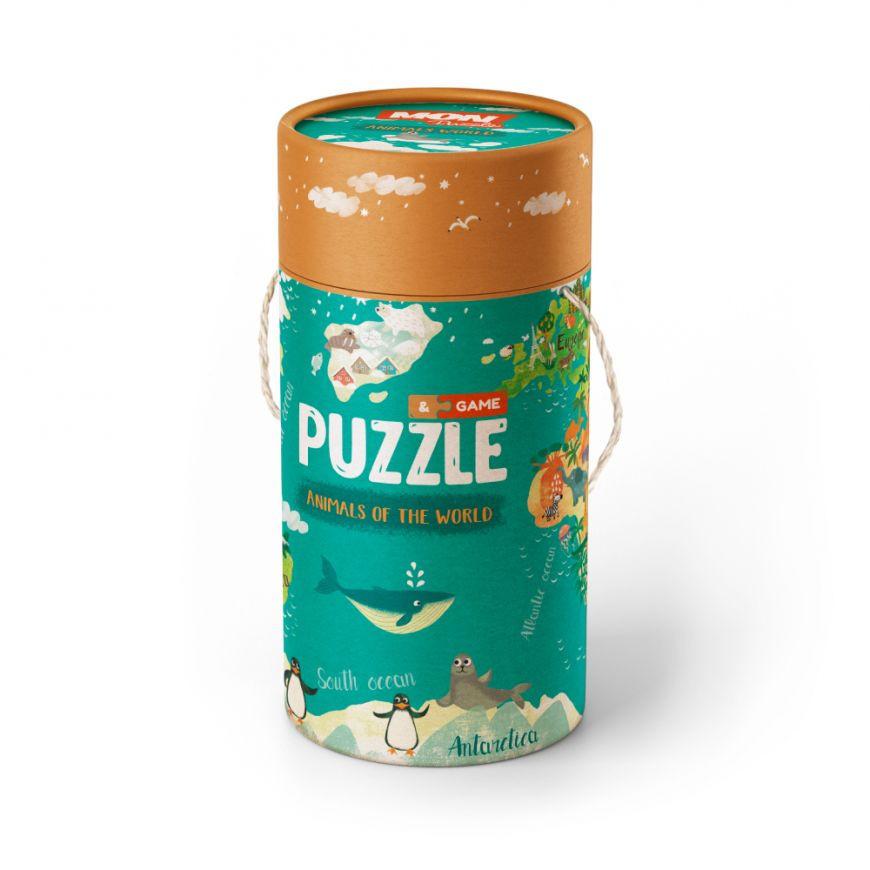 "Пазл и игра Mon Puzzle ""Животные Мира"" 200113"