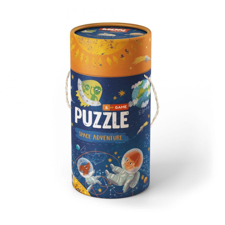 "Пазл и игра Mon Puzzle ""Космическое приключение"" 200112"