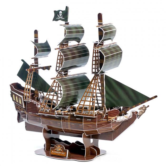 """3D Пазл Magic Puzzle """"Корабль Черная Жемчужина"""", 104 эл"""