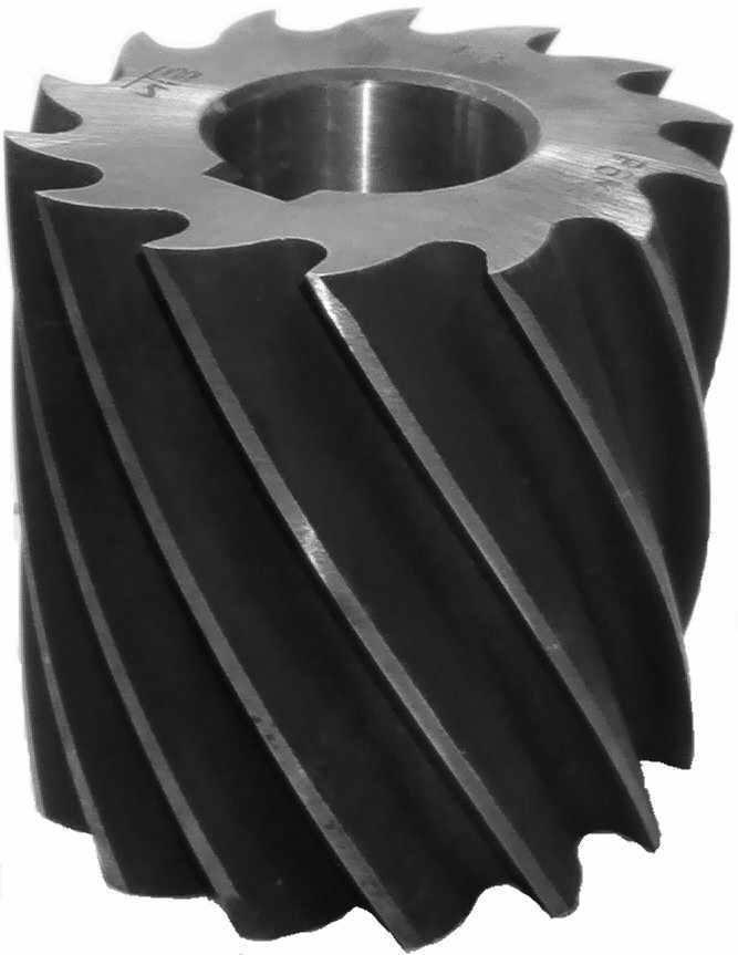Фреза цилиндрическая насадная ф 60х120х27 мм Р6М5 z=8 обдирочная