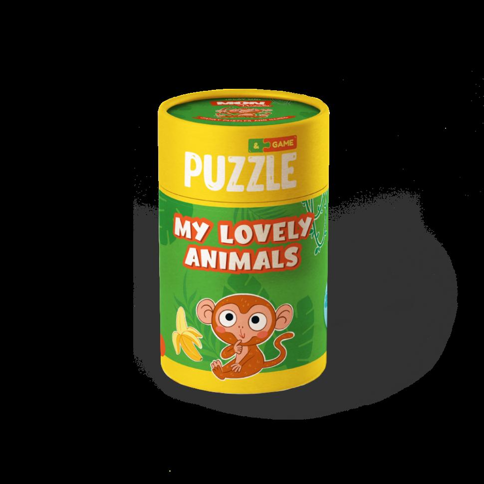 """Пазл и игра Mon Puzzle """"Мои волшебные животные"""" 200104"""