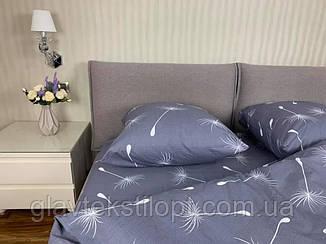 Комплект постельного белья евро Сатин Gold, фото 2