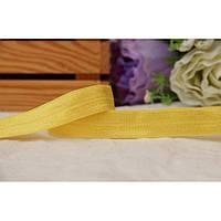 Бейка - резинка , желтая   45 - 50 метров