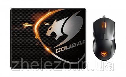 Мышь Cougar Minos XC Black USB + коврик Speed XC, фото 2