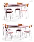 Обеденный комплект: стол Милан и стулья Тор New Pavlyk™, фото 3