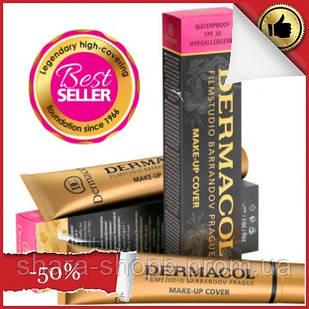 Тональный крем Дермакол (Dermacol) оттенок 207 Dermacol Make-Up Cover