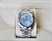 Rolex Day date Blue механічні наручні годинники унісекс