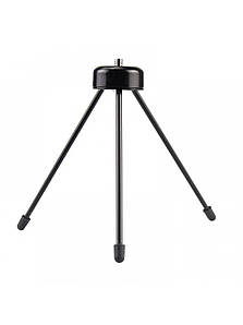 Металевий міні трипод універсальний, настільний для телефону, фото та відео камер, залізний