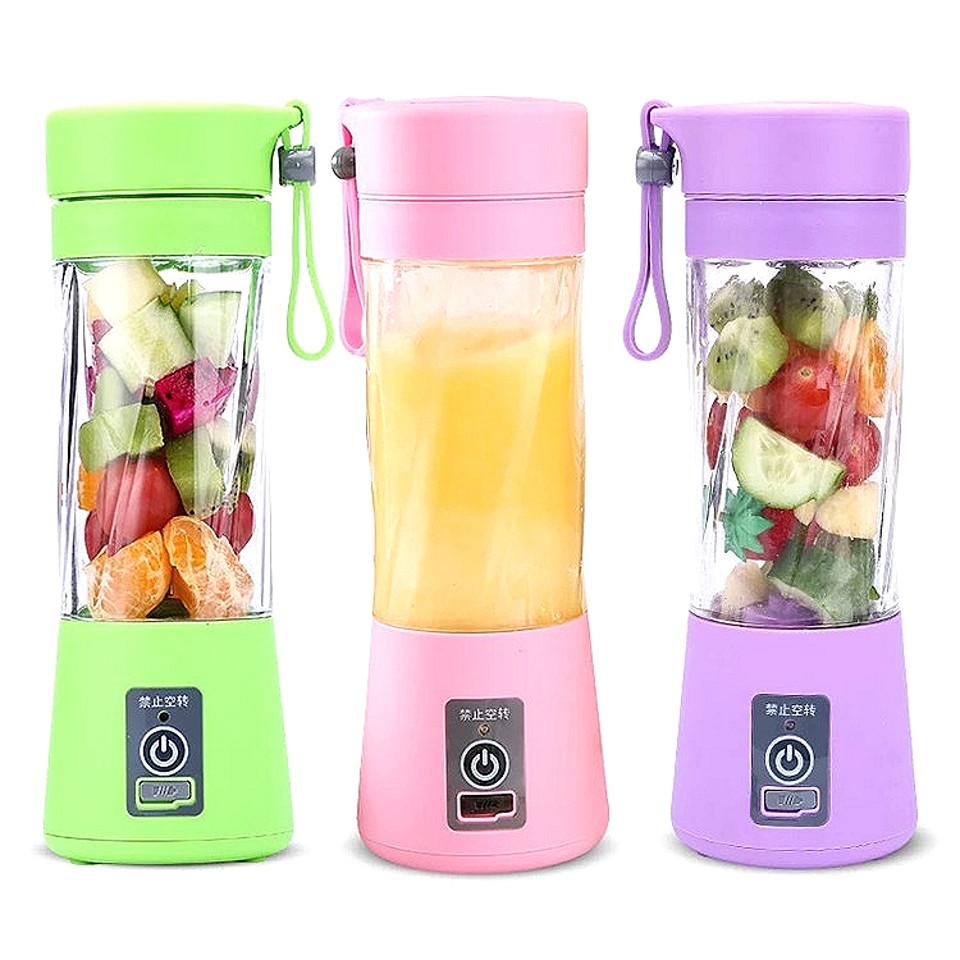 Портативный блендер для коктейлей USB Smart Juice Cup Fruits Беспроводной шейкер для смузи