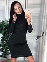 Платье - гольф миди из ангоры в расцветках (р. 42-46) 7PL1653, фото 1