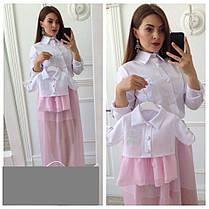 Набор одинаковых костюмов с блузкой мама + дочка, фото 2