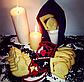Висічка для пряників у вигляді відьомського капелюха та смерті з косою, фото 2