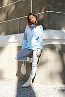 Женский теплый спортивный костюм с зауженными штанами и худи (р. 42, 44) 21SP1122, фото 1