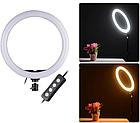 Кольцевая Led лампа MM-988 с зеркалом 35 см 183191, фото 3