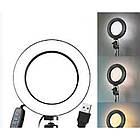 Кольцевая Led лампа MM-988 с зеркалом 35 см 183191, фото 9