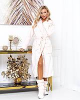 Женский красивый халат с сердечками, фото 1