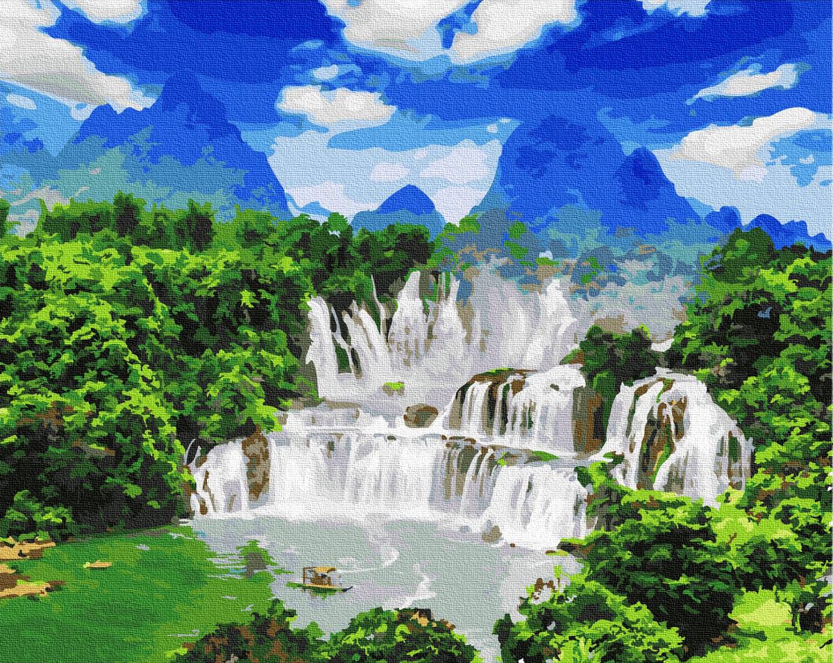 Картина по номерам Водопады