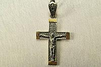 Крестик серебряный на цепочку