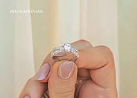 Кільце елегантне з срібла, фото 1