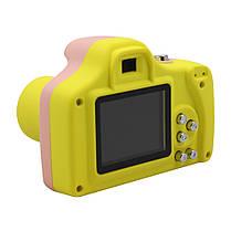 "Детская цифровая фото-видео камера 1.5"" LCD UL-1201 |1080P, 5MP Pink, фото 2"