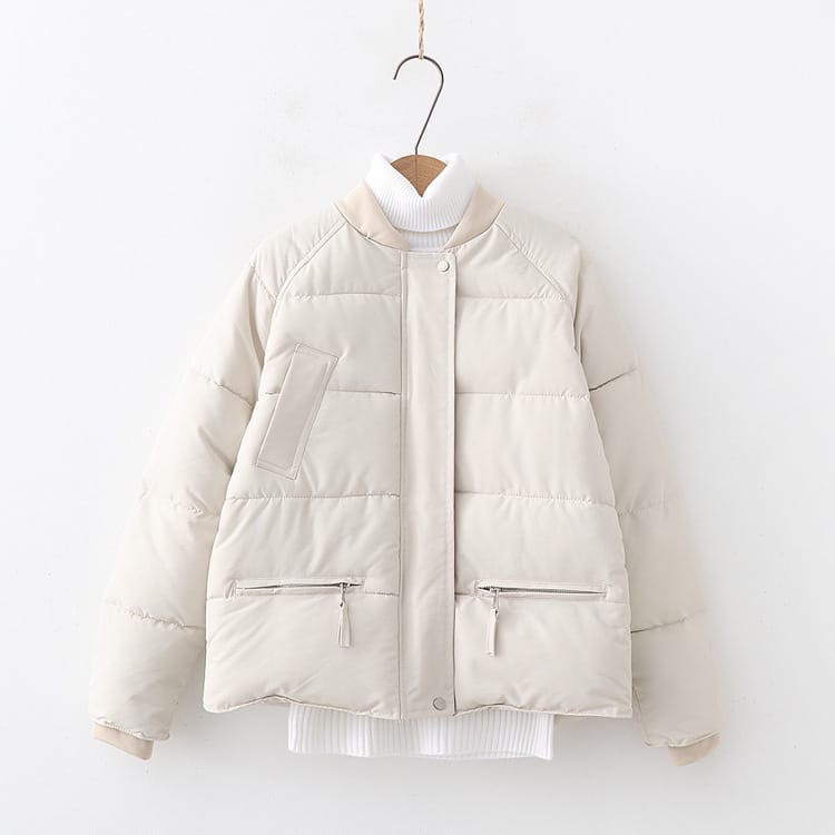 Женская демисезонная короткая куртка с рукавом регланом (р. 42-44) 77ki480