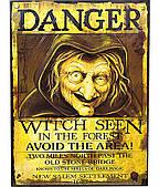 Банер Відьма Danger 201017-002