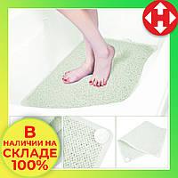 Противоскользящий коврик для ванной комнаты AquaRug, антискользящий ковер на присосках в ванную, фото 1