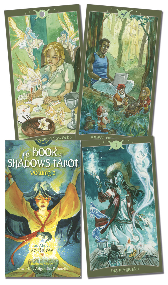 "Book of Shadows Tarot Vol II: ""So Below""/ Таро Книга Тіней Том II. Так і Внизу"