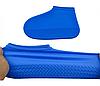 Силіконові чохли бахіли для взуття від дощу і бруду розмір M 37-41, фото 9