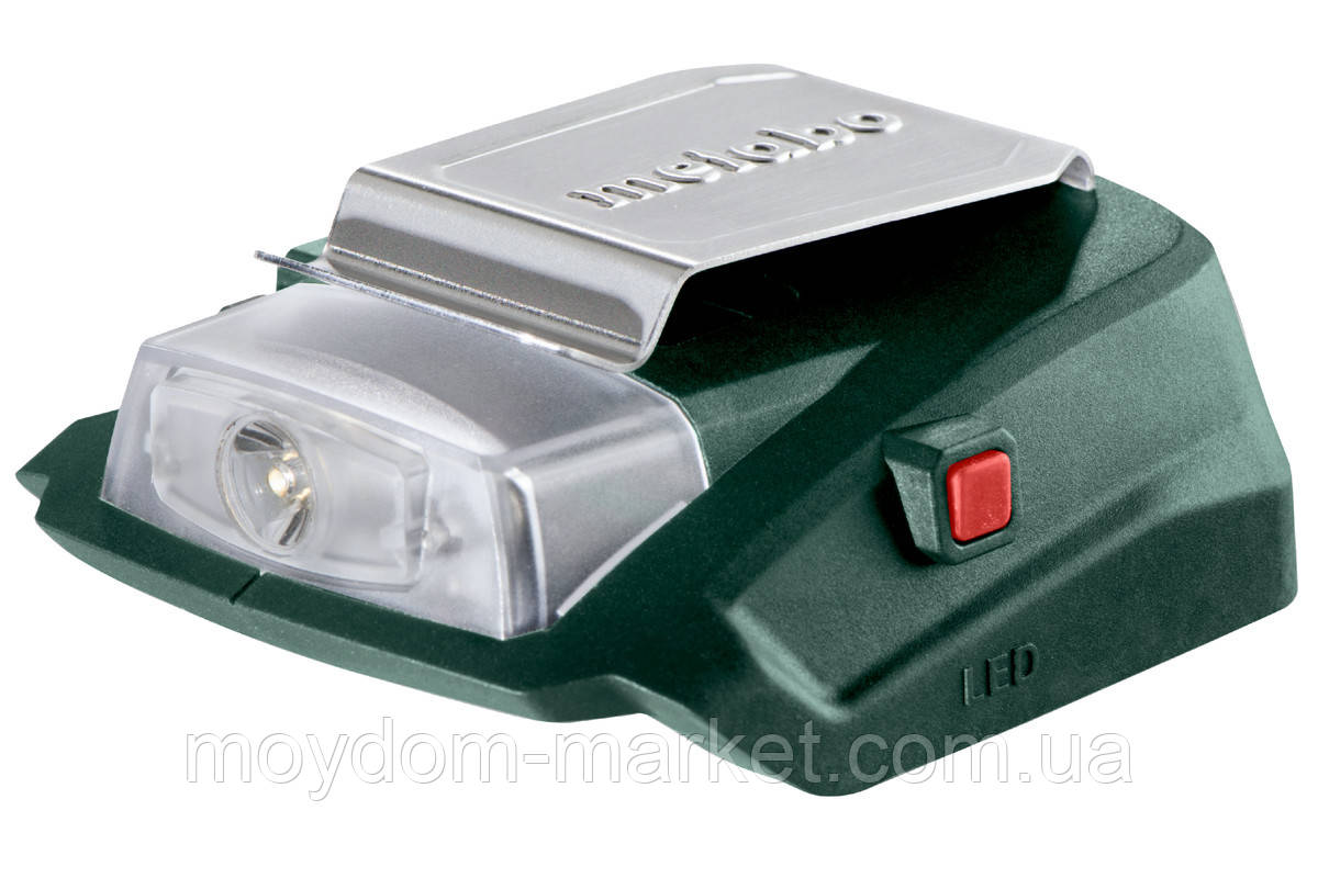 Акумуляторний адаптер Metabo PA 14.4-18 LED-USB 600288000