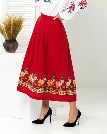 Женская юбка под вышиванку - Мелания, фото 2