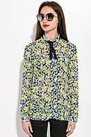 Блузка женская 115R020 цвет Сине-желтый, фото 1