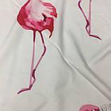 Пляжный коврик Фламинго розовый 150х150 см, фото 3