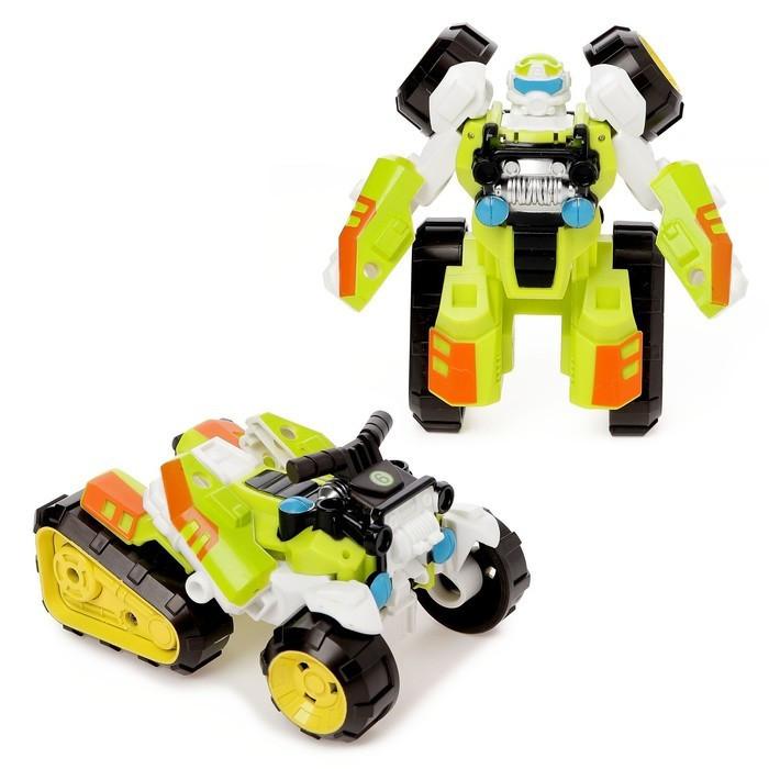 Робот Трансформер 675-9 Зеленый