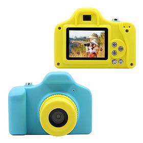 "Детская Цифровая Фото-Видео Камера 1.5"" LCD UL-1201 |1080P, 5MP Blue"