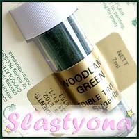 Красители Sugarflair порошковые - Woodland Green - Зеленый лес