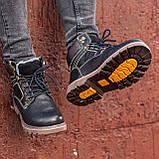 Ботинки мужские зимние South Graft black, зимние классические ботинки, фото 5