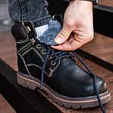 Ботинки мужские зимние South Graft black, зимние классические ботинки, фото 7
