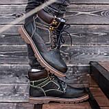 Ботинки мужские зимние South Graft black, зимние классические ботинки, фото 2