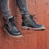Ботинки мужские зимние South Graft black, зимние классические ботинки, фото 6