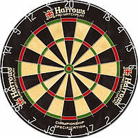 Дартс мишень сизаль Harrows Play Англия Ø45см + 6 дротиков ОРИГИНАЛ