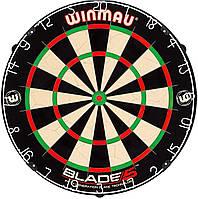 Мишень для Дартса Профессинального уровня Winmau Blade 5 Англия Ø45см с комплектом для крепления ОРИГИНАЛ