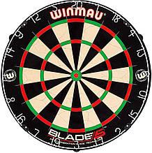Мішень для Дартсу Профессинального рівня Winmau Blade 5 Англія Ø45см з комплектом для кріплення ОРИГІНАЛ