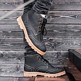 Ботинки мужские зимние South Rebel black, зимние классические ботинки, фото 2