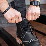 Ботинки мужские зимние South Rebel black, зимние классические ботинки, фото 6